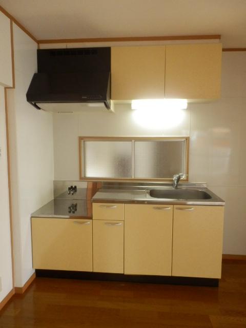 メゾン戸祭 202号室のキッチン