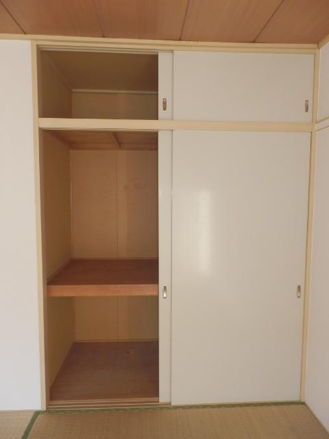 サンシティマガミ 201号室の収納