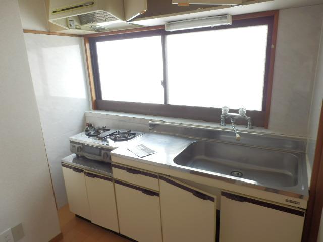 駅前ハイツ 301号室のキッチン