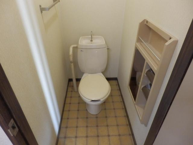 寿ハイツ 203号室のトイレ