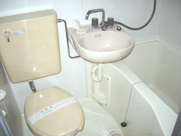 アークハイツ 202号室の風呂