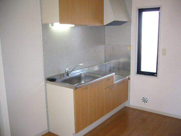 フレンド宝木A 206号室のキッチン