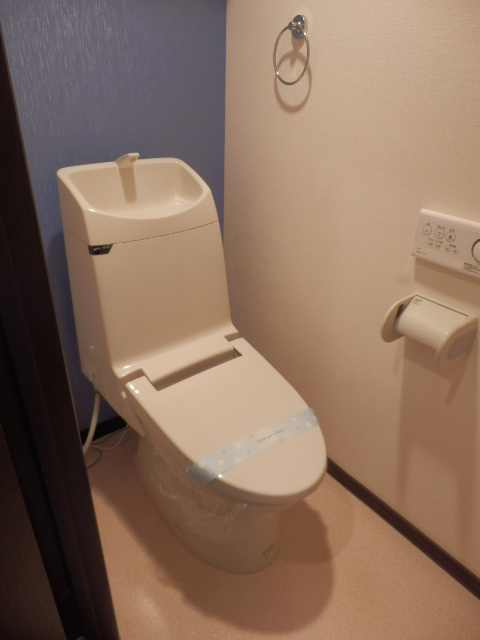 モア クルーズ 401号室のトイレ