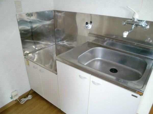 丸山ハイツ 203号室のキッチン