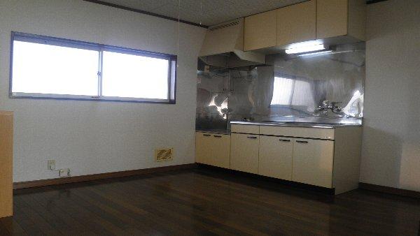 ウエストハイツB B202号室のキッチン