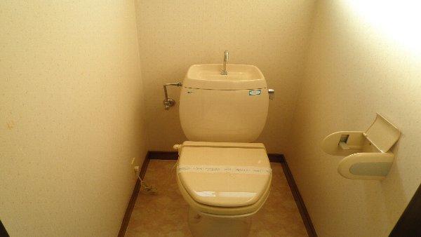 ウエストハイツB B202号室のトイレ