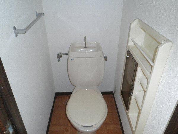 ピークハイツ 105号室のトイレ