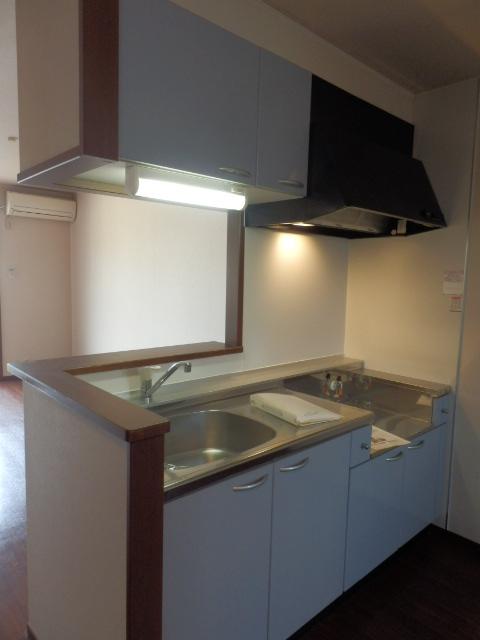 レジデンス・ノヴァH 201号室のキッチン