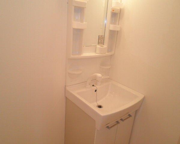 いずみーる 105号室の洗面所