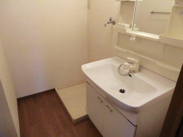 セジュールみなみ西原 A 105号室の洗面所