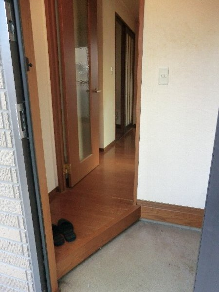 セジュールみなみ西原 A 105号室の玄関