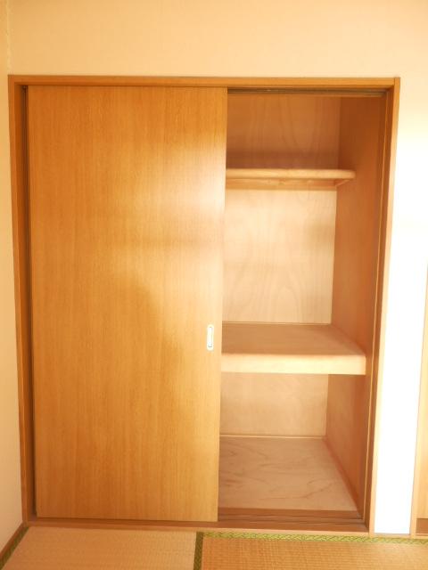 コーポキヌ1 204号室の収納
