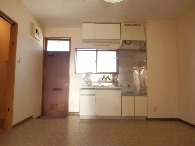 コーポキヌ1 204号室のキッチン