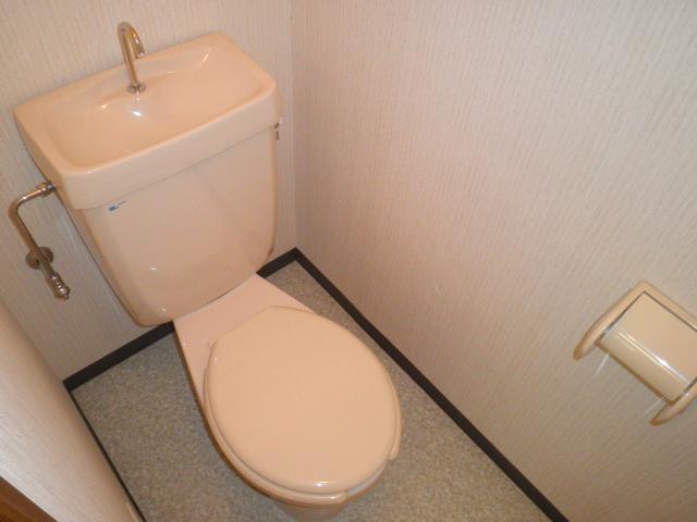 フォレストヒルズ 302号室のトイレ