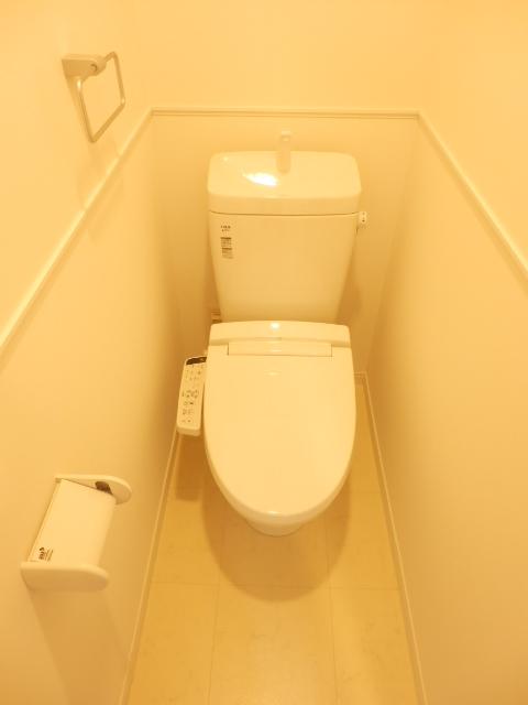 ビオス竹林 109号室のトイレ