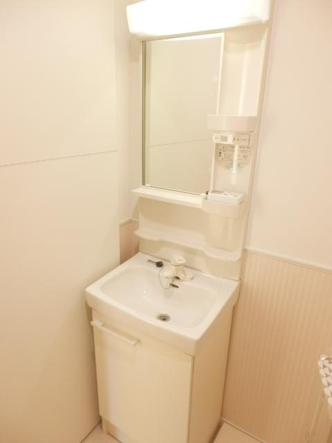 ビオス竹林 109号室の洗面所