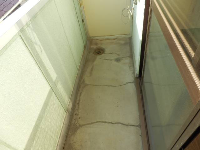 メゾンドココ 308号室のバルコニー