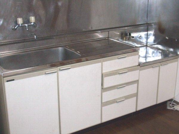 グランパティオⅠ 102号室のキッチン