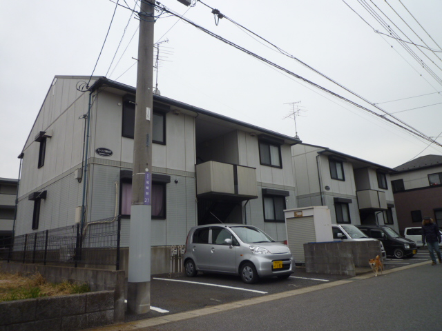 グリーンハイツ尾崎台A 202号室の駐車場