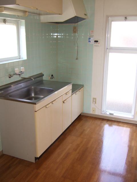 ボヌールシミズC棟のキッチン