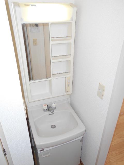 サンメゾネットBの洗面所