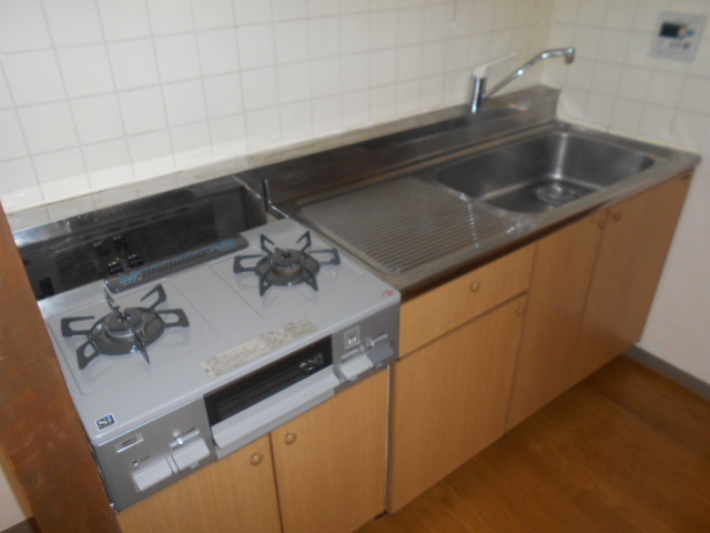 サウス鴨宮 202号室のキッチン