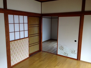 吉田貸家のリビング