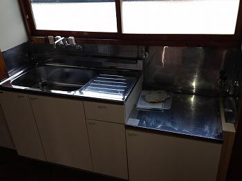 吉田貸家のキッチン