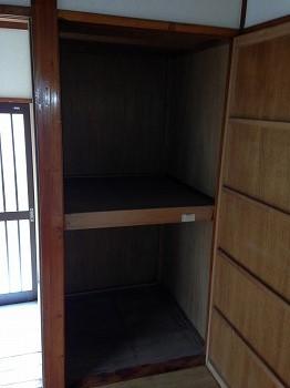 吉田貸家の収納