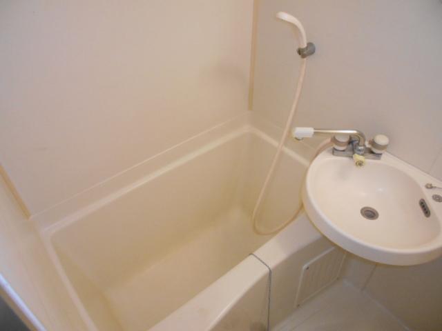 池田ハイツB 115号室の風呂