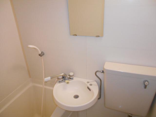 池田ハイツB 115号室の洗面所