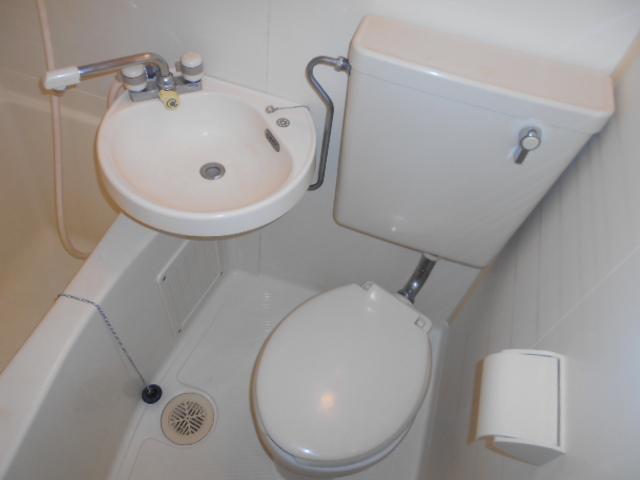 池田ハイツB 115号室のトイレ