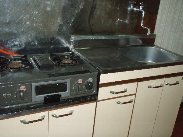 小狩荘 103号室のキッチン