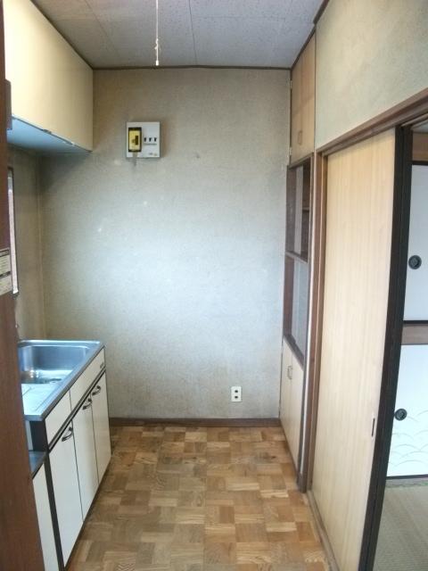 ニューグリーンコーポ 201号室のキッチン