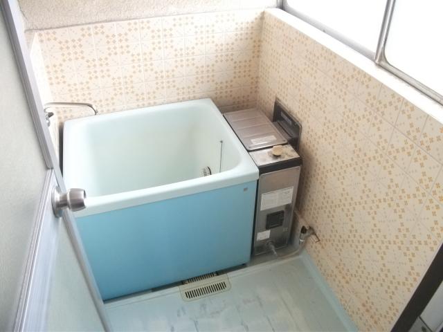 ニューグリーンコーポ 201号室の風呂