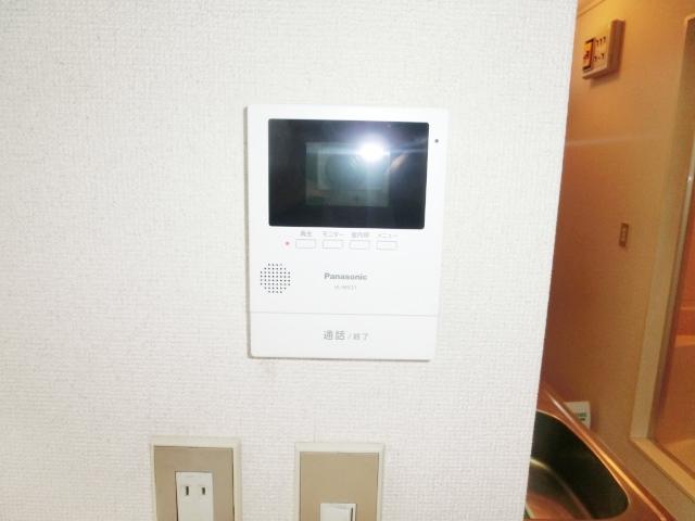 エステートピア清門 201号室のセキュリティ