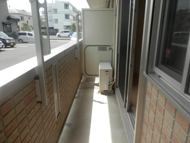 ヴァンヴィーブル早稲田 101号室のバルコニー