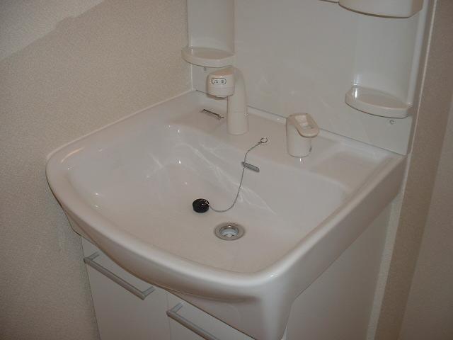 ヴァンヴィーブル早稲田 101号室の洗面所