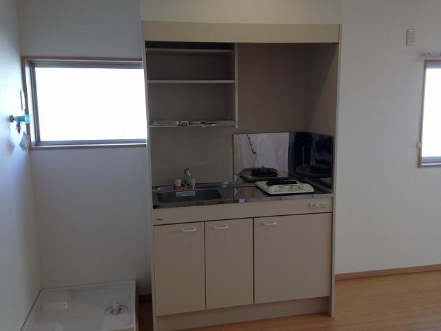 泉ビル 401号室のキッチン