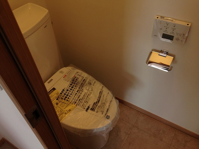 泉ビル 401号室のトイレ
