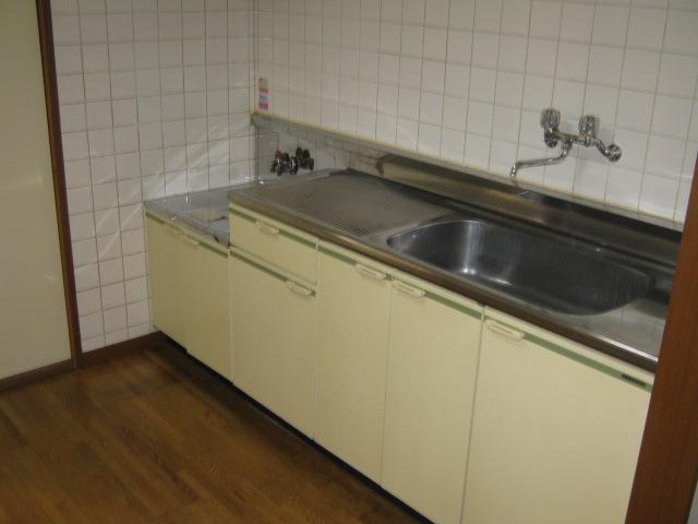 ホライゾン堀口 201号室のキッチン
