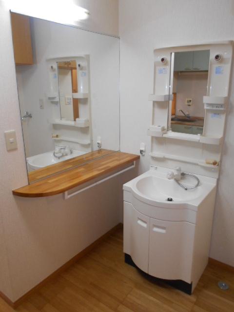 アピア 101号室の洗面所