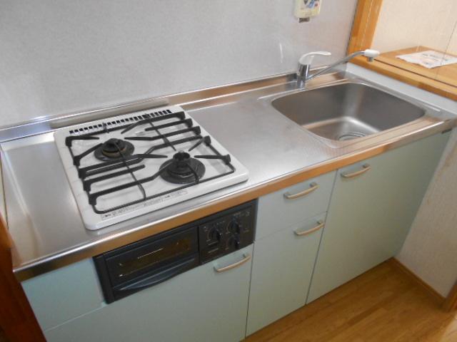 アピア 101号室のキッチン