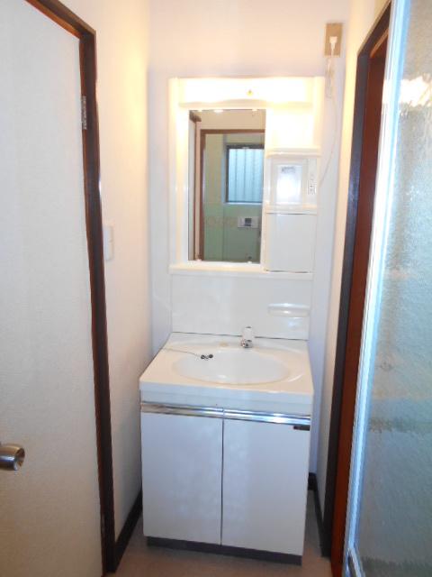 ハイツ石原 105号室の洗面所