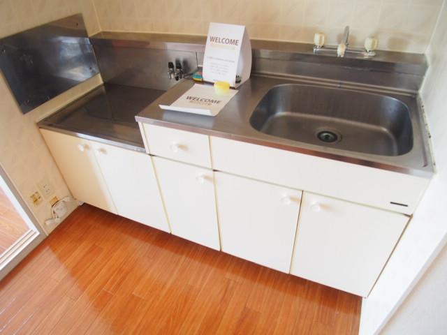 セントラルハイム 203号室のキッチン