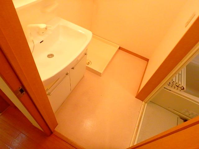 ベルシオンⅡの洗面所