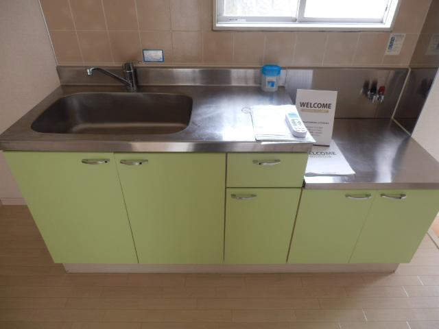 ヴィラセイワB 201号室のキッチン