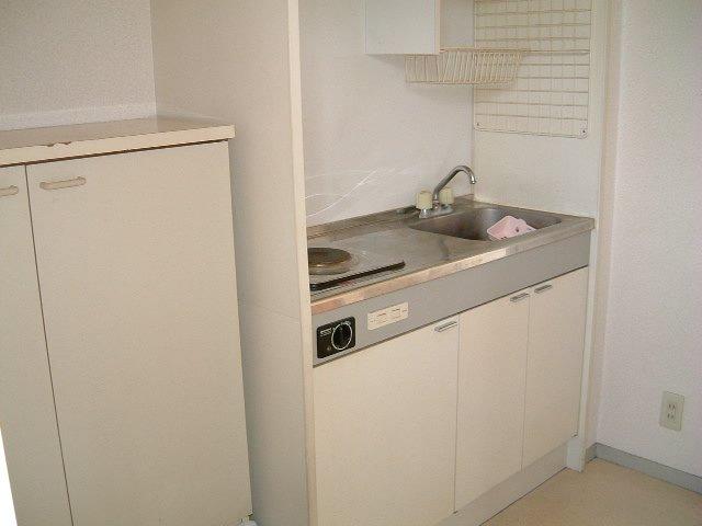 ネオフラッツ三山 102号室のキッチン
