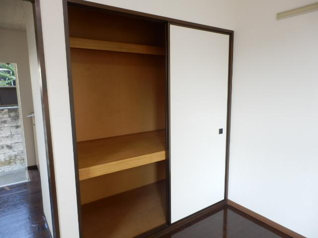 ヒルズミヤマ 201号室の収納