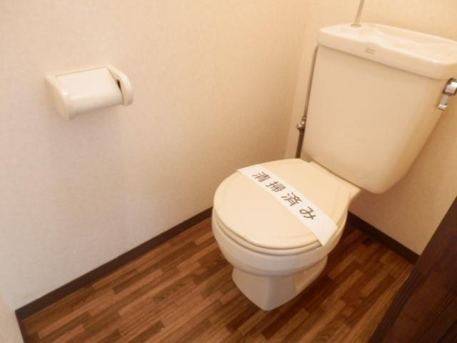 ヒルズミヤマ 102号室のトイレ